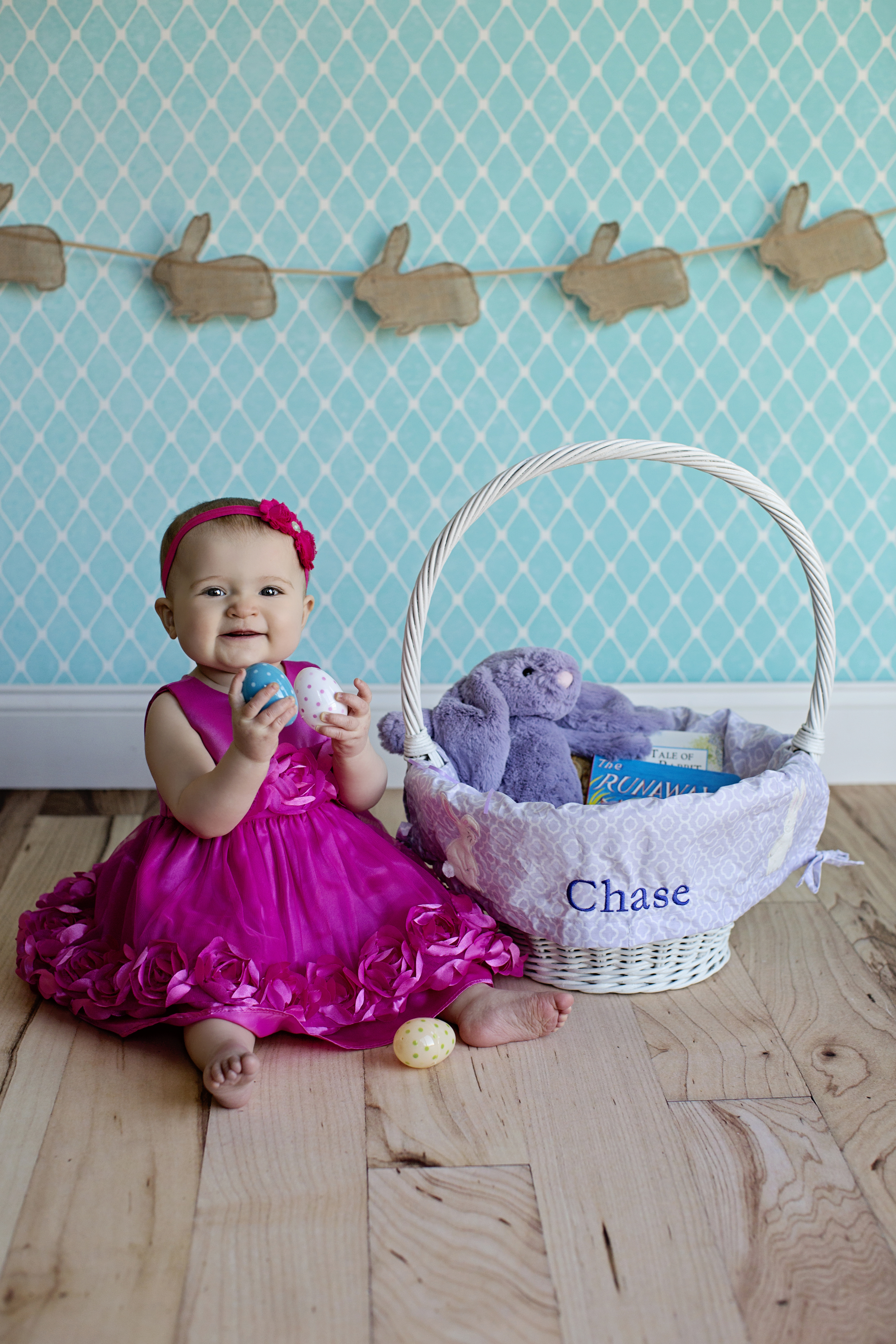 March 2014 chaseeverysecond pink dress von maur pink headband etsy store pinkpaisleybowtiqueeaster basket and liner pottery barn purple easter grass target easter bunny and negle Choice Image